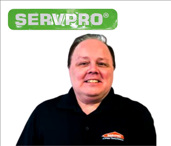 Bill Repsel- Male employee- SERVPRO photo - white wall